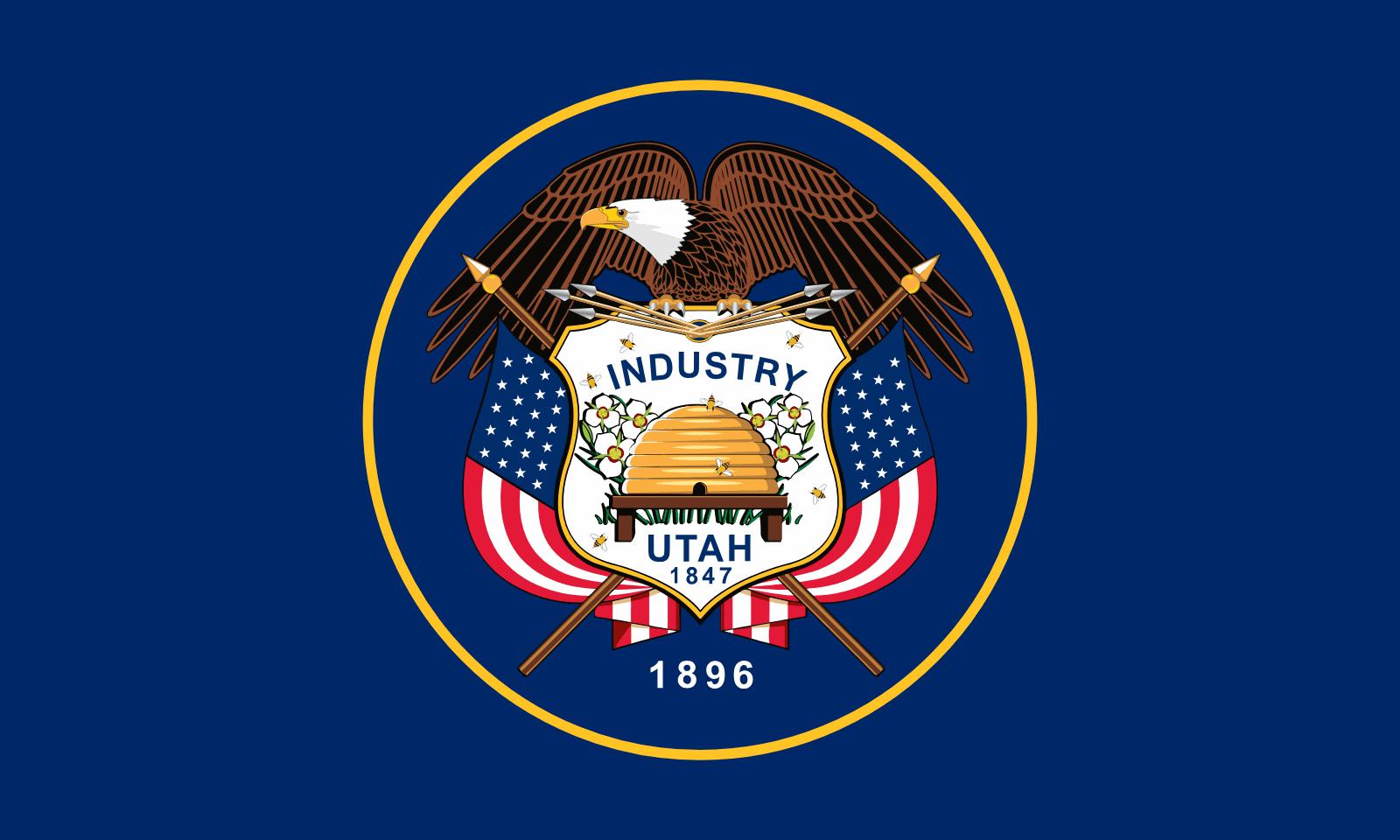 Utah   Vlaggen van de Amerikaanse staten