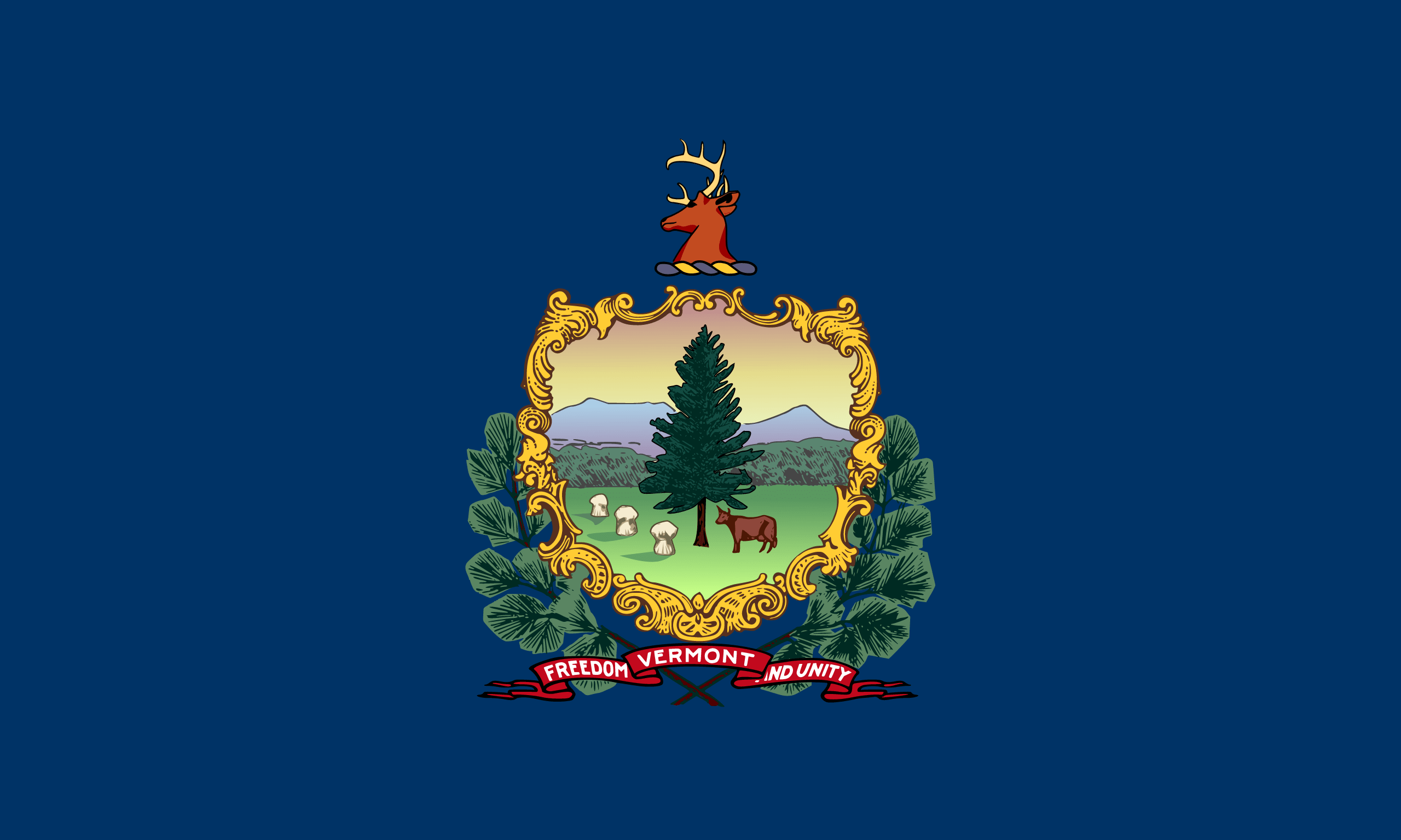 Vermont flags of the us states download a flag or use it on websites buycottarizona